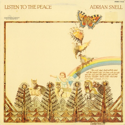 Adrian Snell - Listen To The Peace